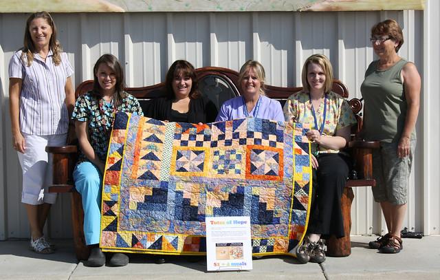 Corizon raises money for Totes of Hope
