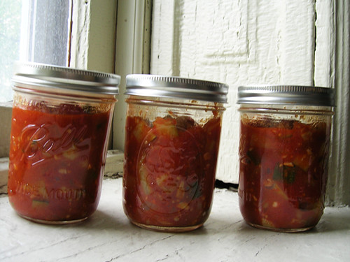 tomato zucchini shakshuka jars