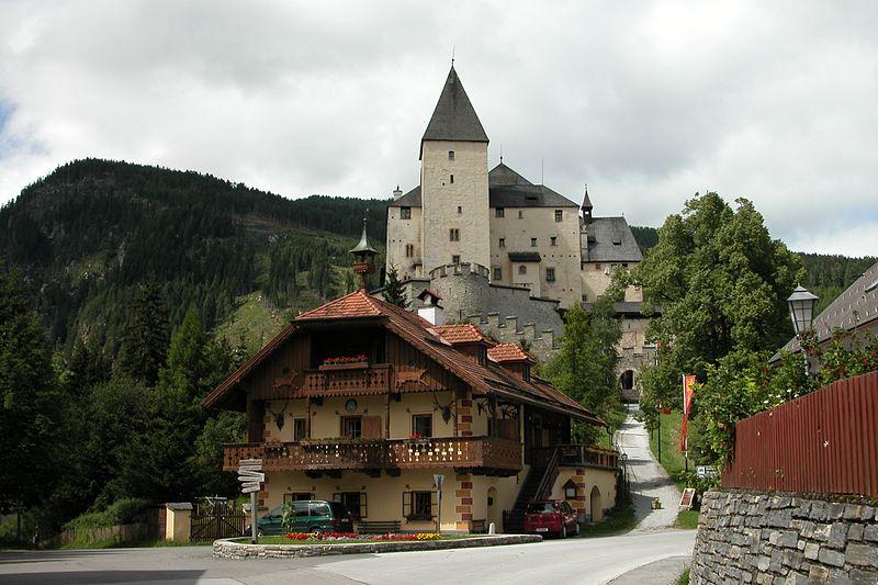 19. Castillo de Mauterndorf. Autor, HelgeRieder