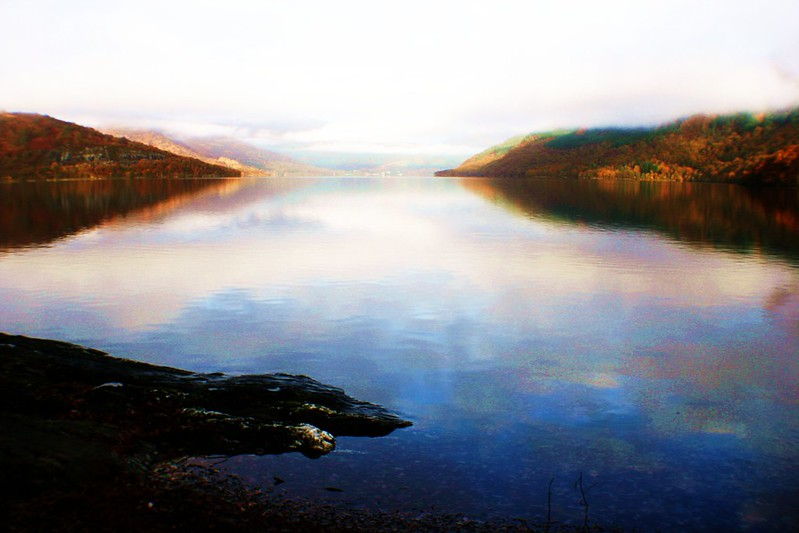 Loch Lomond from Rowardennan, Scotland