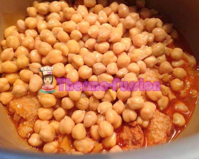 Garbanzos con callos fussioncook thermo fussion cook for Comida rapida y calentita