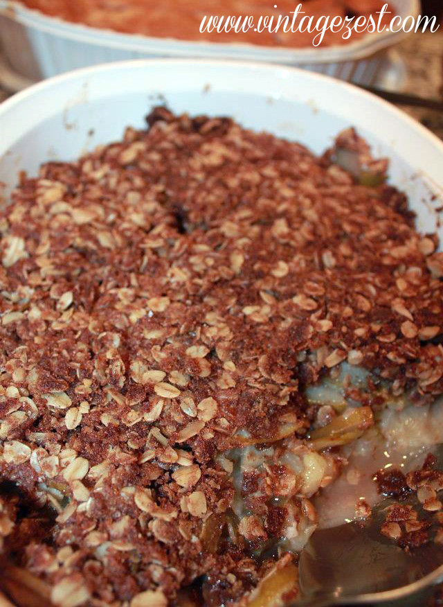Thanksgiving Fails 3 - Apple Crumb