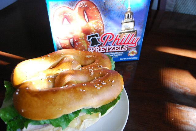 Pretzel sandwich 2