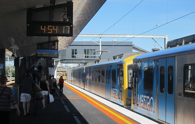 West Footscray station, platform 2