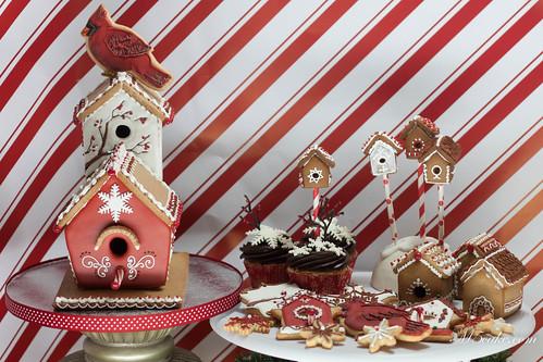 IMG_3060 Cardinals Birdhouse m5cake.com