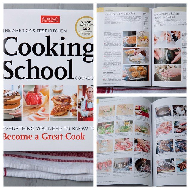 ATK Cooking School Cookbook - Review + Giveaway - Everyday Annie