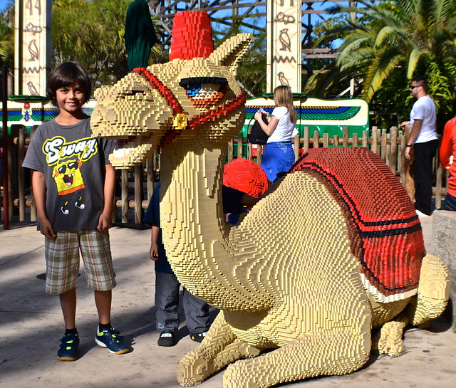 Legoland, Florida - Camel of arab