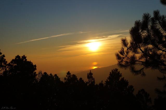 Crepuscular - Faro de Domaio, Moaña / Ría de Vigo