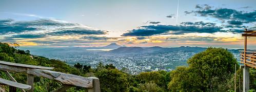 city morning mañana clouds sunrise landscape volcano ciudad paisaje fair clear amanecer elsalvador viewpoint mirador centralamerica sansalvador volcán centroamerica fairlycloudy