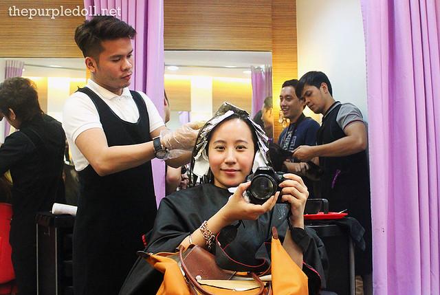 Full Head Hair Color at Creations Lourd Ramos Salon ETON Cyberpod Corinthian