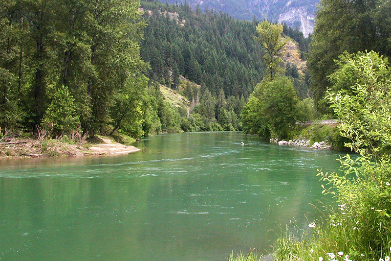 Birkenhead River, Mount Currie, Pemberton Valley, Sea to Sky, British Columbia, Canada