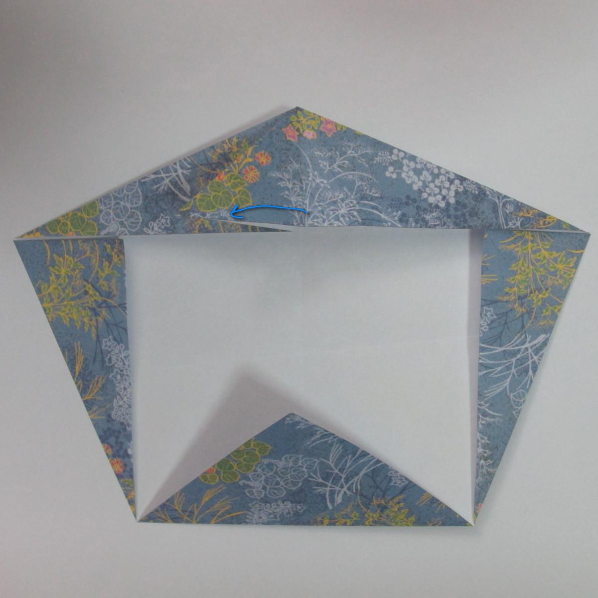 วิธีการพับกระดาษเป็นรูปม้า (Origami Horse) 018