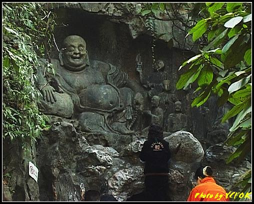杭州 飛來峰景區 - 027 (飛來峰石雕佛像)