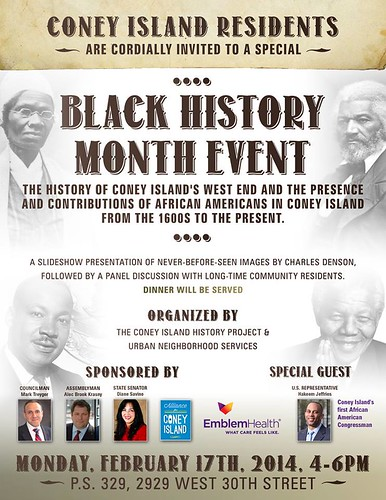 Black History Month, Coney Island