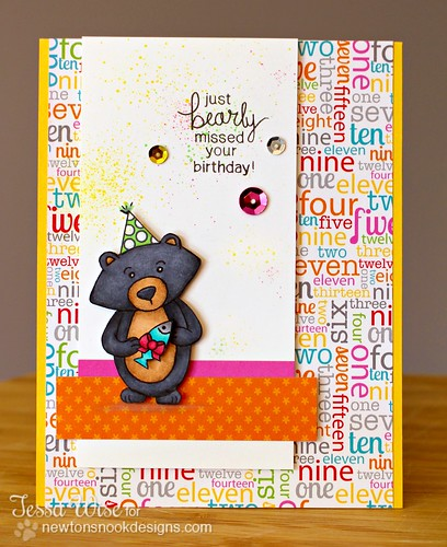 Bear Party Card 1