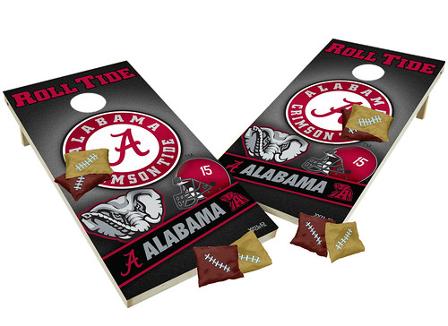 Alabama Custom Cornhole Boards XL