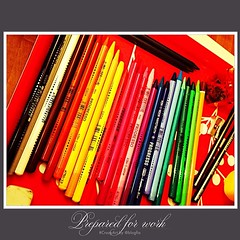 Now work! #crazyart #byblogfia #pencils #colors #colours #funallthetime
