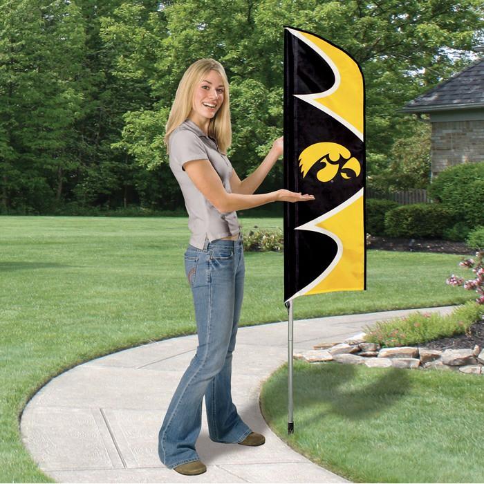 Iowa Short Feather Flag