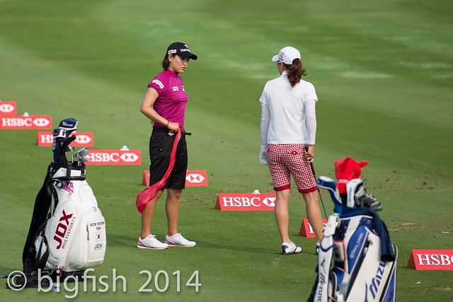 Some ladies golfers - Practice Round - Day 2 (some pics) 12761354385_47dd8c19d6_z