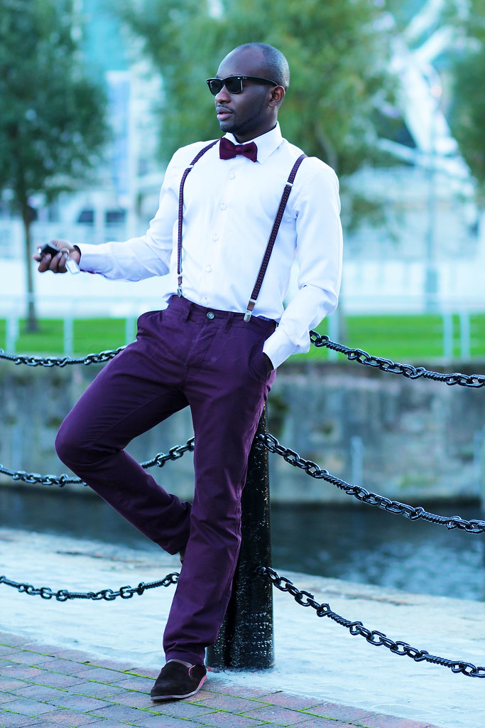 what to wear with burgundy pants mens, Men's burgundy pants, bow tie, suspenders, braces, Burgundy pants, men's Burgundy pants, mens Burgundy pants, Burgundy trousers, men's Burgundy trousers, mens Burgundy trousers