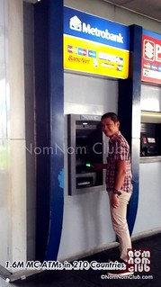 There are over 1,700+ Metrobank ATM machines (11,000 w/ affiliated ATMS nationwide & 1.6 million worldwide)
