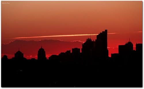 city sunset color colour silhouette skyline clouds canon photography flickr sydney australia newsouthwales sydneyskyline canonphotography silhouettephotography canon600d