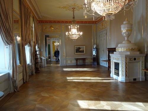 Wien, 1. Bezirk, Palais Erzherzog-Albrecht (Albertina), built 1745 - Architect: unknown, Barock/Klassizismus (Albertinaplatz/Hanuschgasse), Das Große Spanische Zimmer