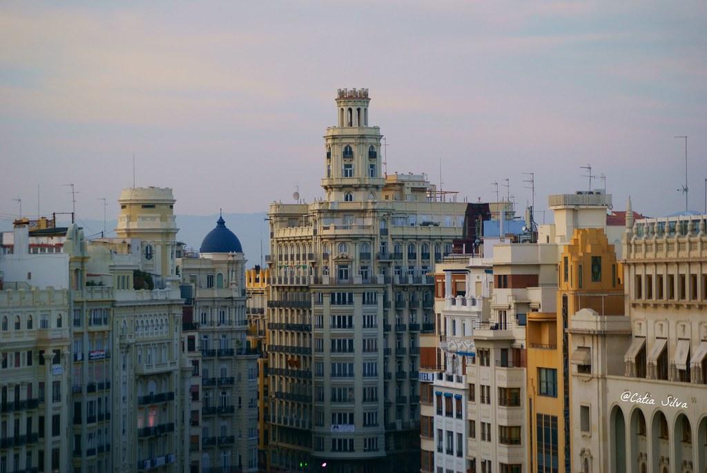 Valencia desde el Edificio Telefonica (2)