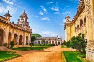 Chowmahalla Palace Courtyard