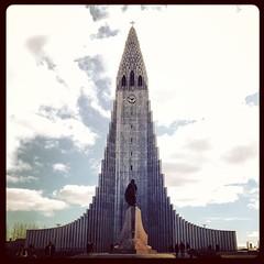 Visited Hallgrímskirkja Lutheran church in Reykjavik, Iceland. #iceland #reykjavik #Hallgrímskirkja