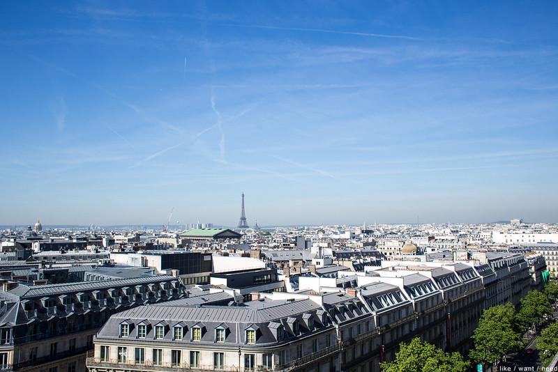 Galeries Lafayette terrace