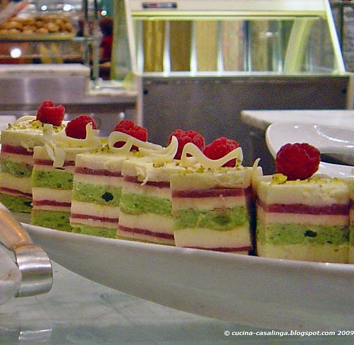 Wynn Buffet Himbeer Dessert