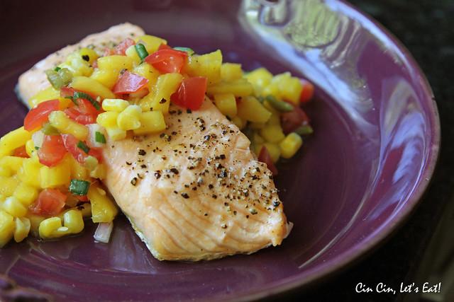 salmon mango salsa 1