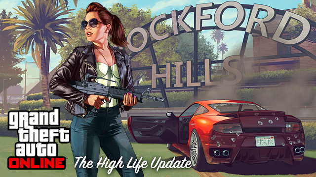 Grand Theft Auto V for PS3: The High Life Update