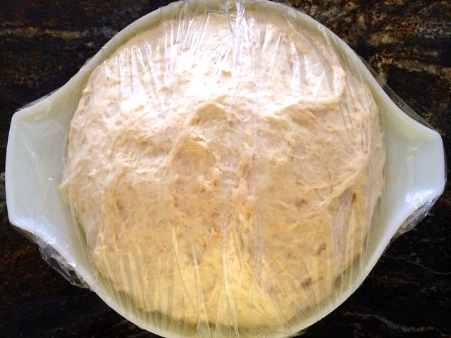 Dough After 2nd Rise