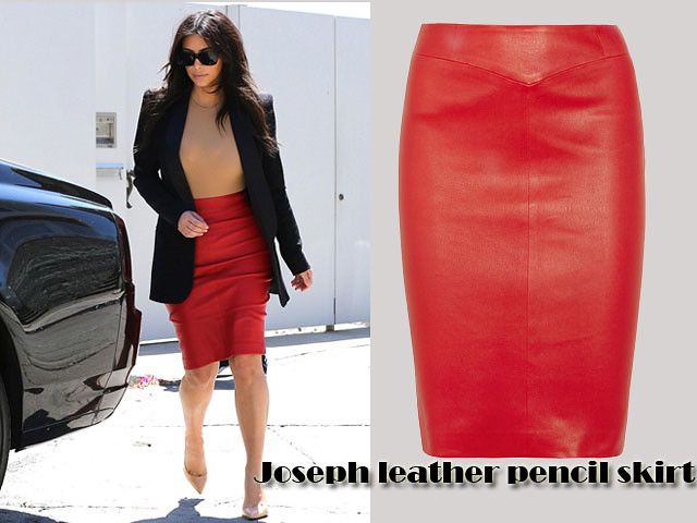 Joseph-leather-pencil-skirt, Red pencil skirt, Joseph leather skirt, Joseph leather pencil skirt, leather pencil skirt, how to wear a red pencil skirt, red leather pencil skirt, how to style a red skirt, how to wear a leather pencil skirt