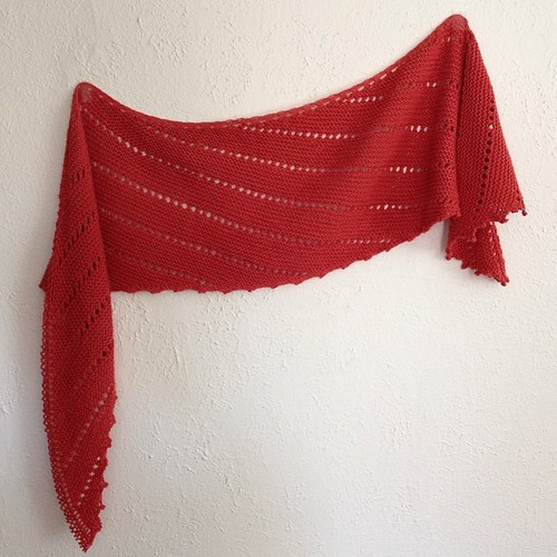 This can happen if you knit monogamously! Picabeau by Jennifer Dassau