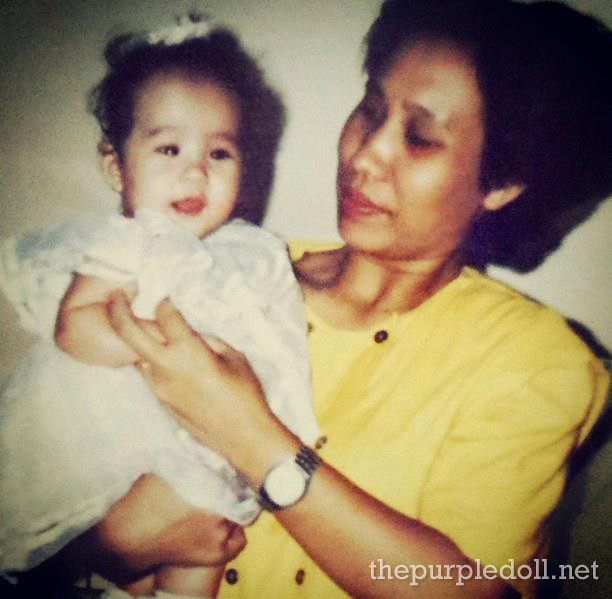 Baby Sumi with Mama