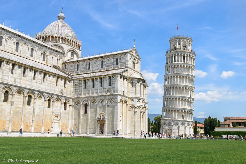 Tower Pisa in Italy