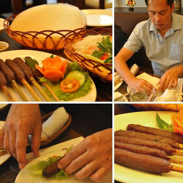 Hanoi Rolled BBQ