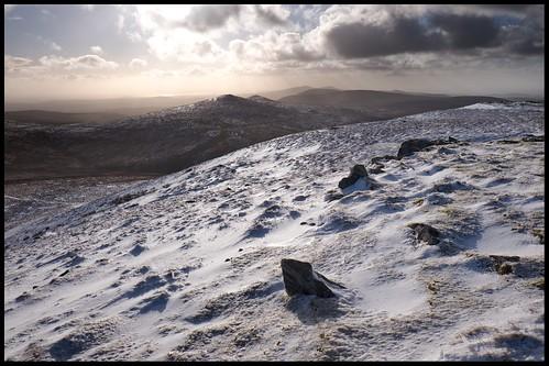 snow isleofman snaefell