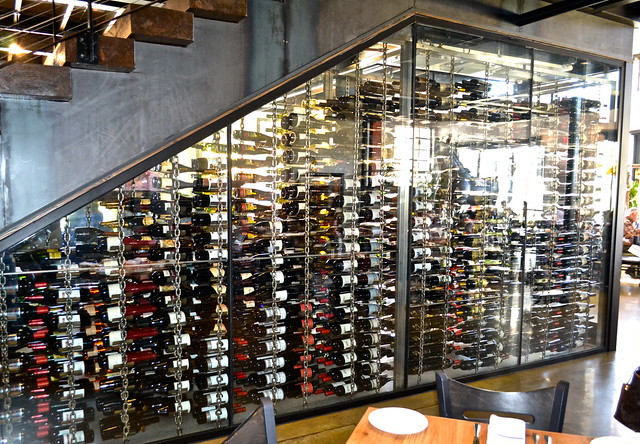 Ulele Restaurant - wine cellar