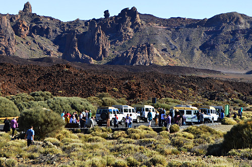 Jeep Safari,crater, Teide National Park, Tenerife