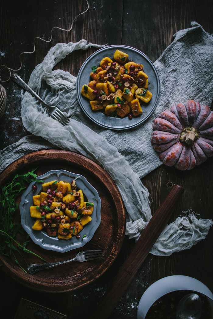 Winter Squash Gnocchi with Toasted Hazelnuts, Tarragon, & Brown Butter by Eva Kosmas Flores | Adventures in Cooking