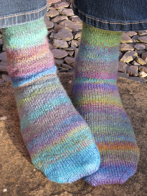 Stinger handspun socks (3)