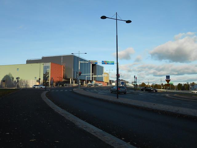 Hämeenlinnan moottoritiekate ja Goodman-kauppakeskus: Työmaatilanne 13.10.2013 - kuva 10