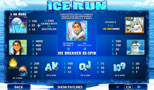 free Ice Run slot mini symbol
