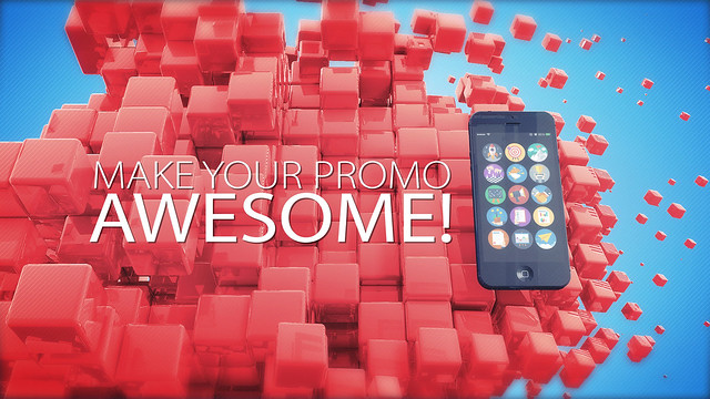 App, corporate, promo, iphone, phone, 3d device