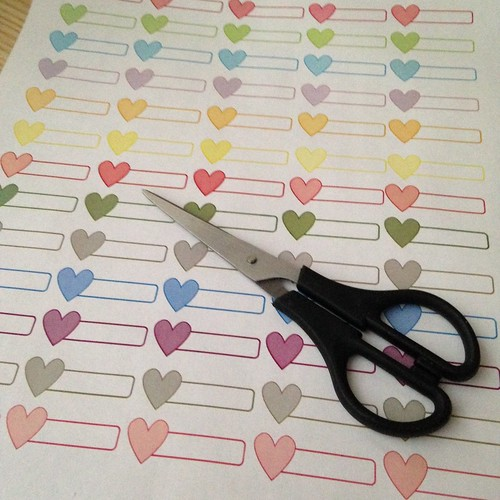 Heart Labels (Free Printable - www.puresugar.net)