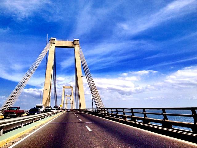 El Puente Generalísimo Rafael Urdaneta Serie Venezuela Tierra de Gracia #SerieVenezuelaTierradeGracia #Paisajes #Venezuela #InstaVenezuela #elNacionalweb #igersmaracaibo #iPhone
